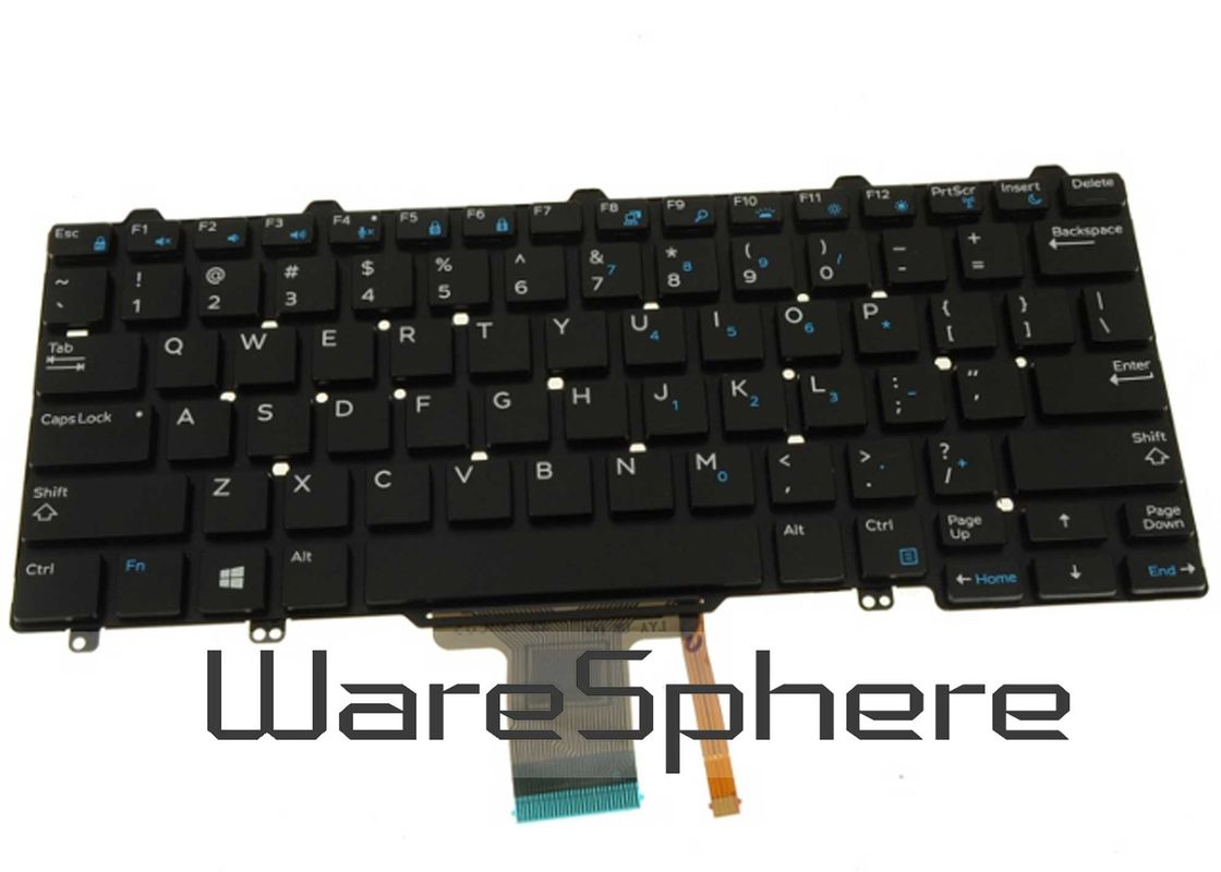 0XCD5M XCD5M Laptop Backlit Keyboard , Dell Latitude E7250 Laptop Light Up Keyboard