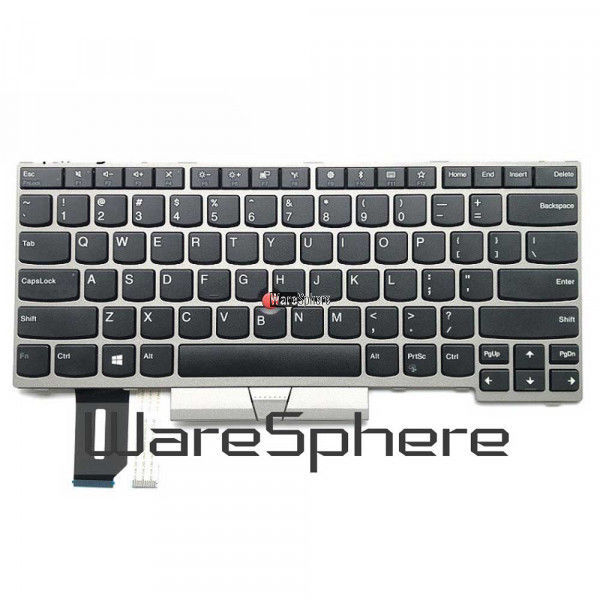Non - Backlit Keyboard Laptop Spares For Lenovo ThinkPad T480S E480 L380 L380 Yoga 01YN300 US